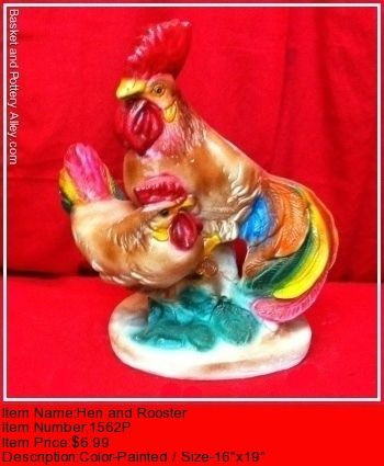 Hen and Rooster - #3638