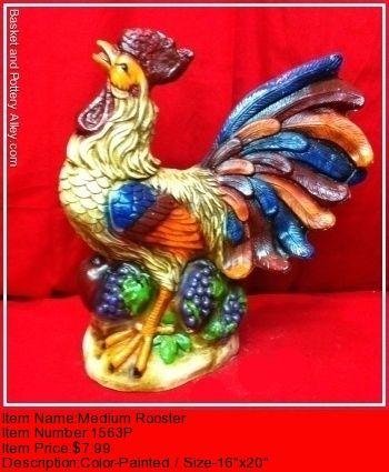 Fancy rooster #4729