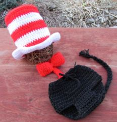 Crocheted Handmade 3 Piece Baby Sets