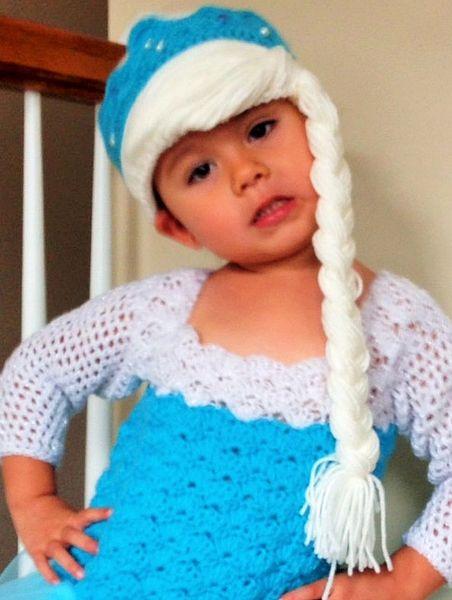 Elsa Handmade Crocheted Hats For All Sizes