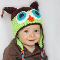 Owl Handmade Crocheted Hats For All Sizes