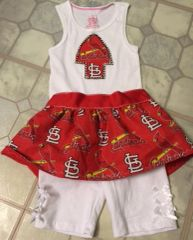 Girls Sports Themed 3 Piece Set