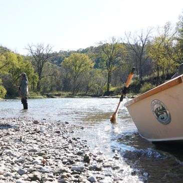 Drift Boat Fly Fishing Guided Tours Driftless Region Root River Fly Fishing