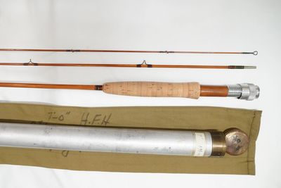 Payne 97 Vintage Bamboo Fly Rod. Root River Rod Co. Lanesboro, Minnesota