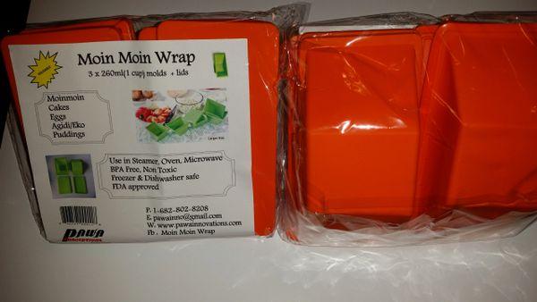 Moin Moin Wrap 3 packs(large) Orange