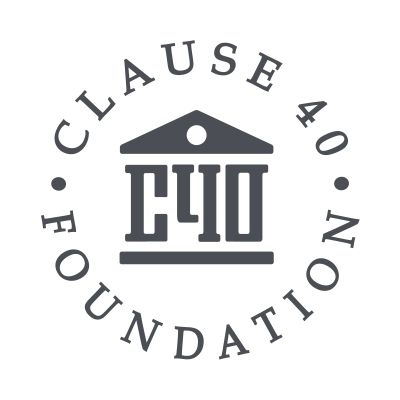 Clause 40 Foundation logo