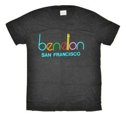 80's classic benetton san francisco tshirt size S-M