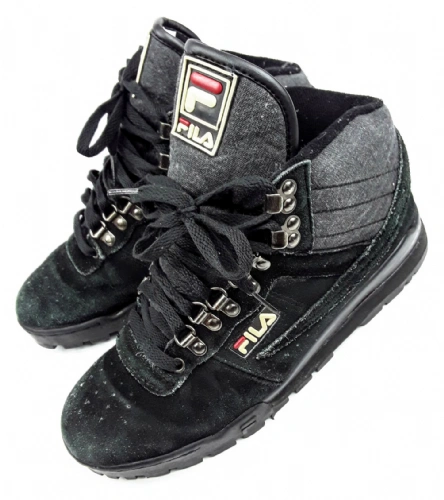 mens true vintage suede fila hightops size uk 9 issued in 1994