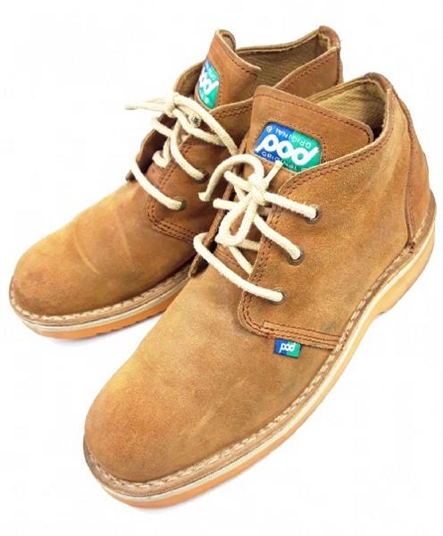 1996 true vintage pod mens rare desert boots size 44 uk 9.5
