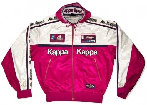 true vintage limited edition kappa jacket size uk XL late 80's