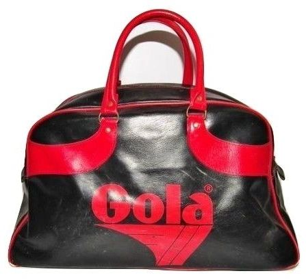 late 70's true vintage gola sports holdall bag