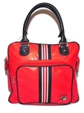 2004 womens true vintage fila sports bag