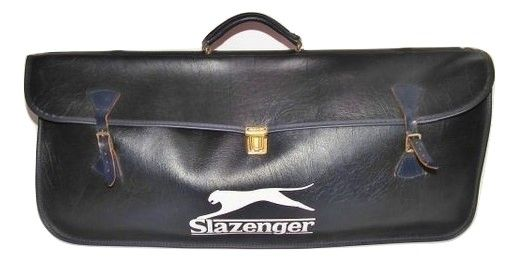 1970,s true vintage slazenger cue and bat bag