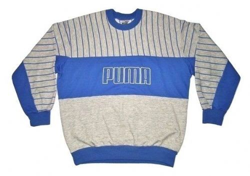 oldskool puma sweater 1980's size large