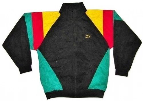 80's vintage puma velour jacket size L-XL
