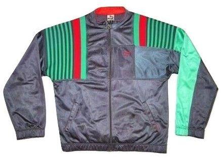 original 80's puma tracksuit top size M-L