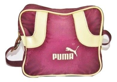 womens 2006 true vintage puma shoulder satchel bag