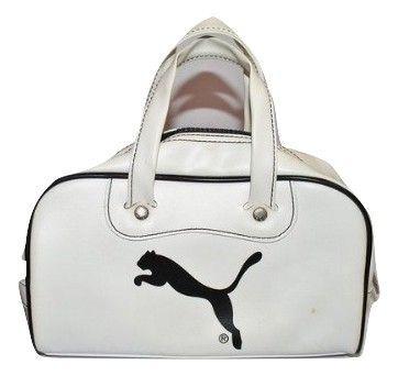 2006 womens retro leather puma handbag