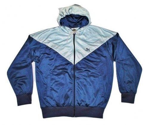 true oldskool 80's vintage puma hoodie size XL