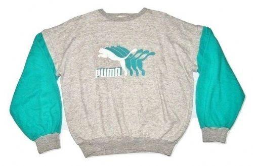 80's oldskool vintage puma sweater size large