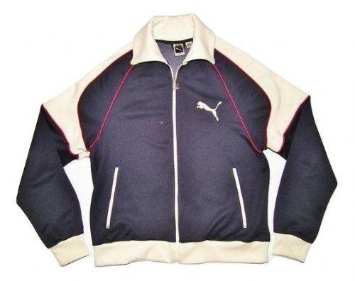 oldskool 80's vintage puma track jacket size L-XL