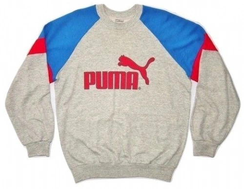 true vintage puma sweater size uk xlarge issued early 1990's
