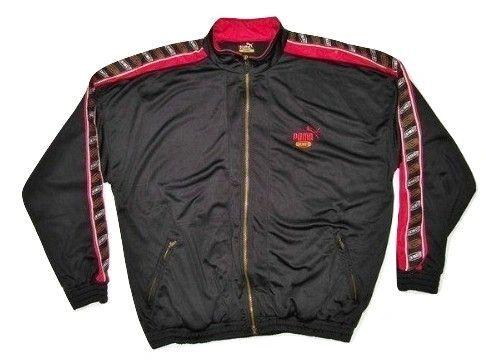 90's vintage puma king tracksuit top size XL-XXL