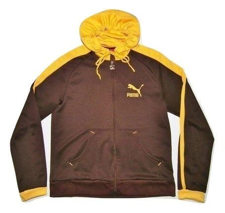 oldskool retro puma hoodie size medium