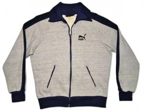 true 80's oldskool vintage puma jacket size S-M
