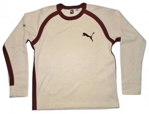 true oldskool 80's vintage puma jumper size medium