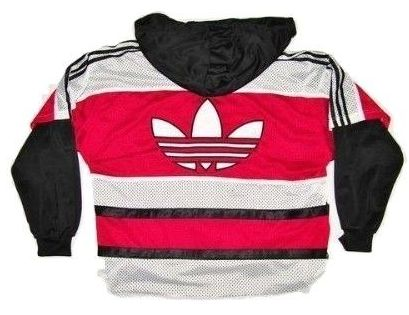 original 90's adidas hoodie tacktop size xxl