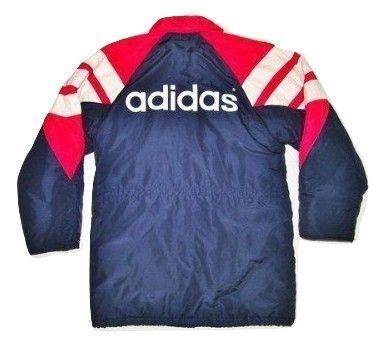 true vintage adidas original coach coat size L-XL