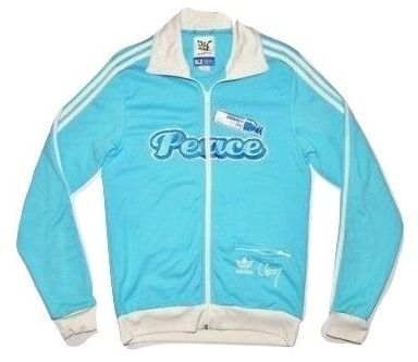 vintage classic oldskool spellout adidas tracktop size S-M