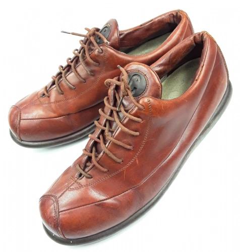 mens vintage camper casual leather shoes size uk 11 eu 45