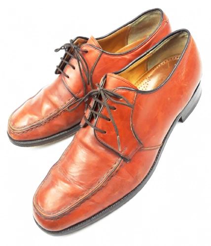 1988 mens barker true vintage leather formal shoes size uk10