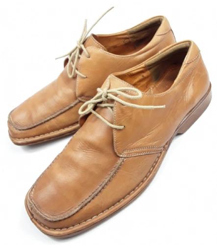 mens vintage leather quality italian shoes size uk 10.5
