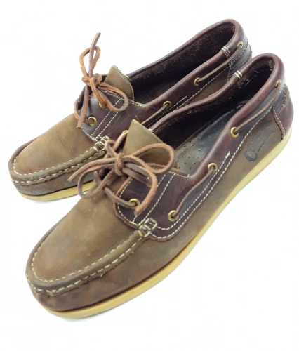 true vintage company walkers sailor boating shoes, mens size uk 9