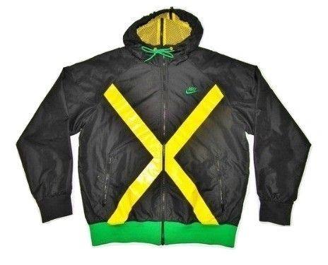 limited edition vintage nike windbreaker jamaica size