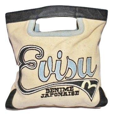 womens vintage evisu shopper bag