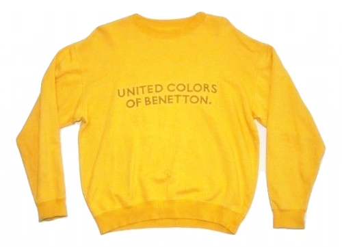 1980's original oldskool benetton sweater size uk S-M