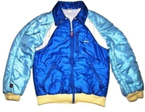 1980's true oldskool vintage ellesse ski jacket size L-XL