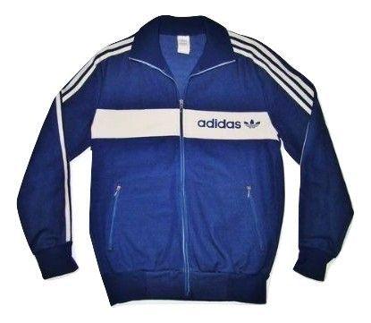 Original 1984 adidas tracksuit top S