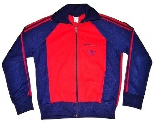1980's true vintage adidas sports jacket UK S