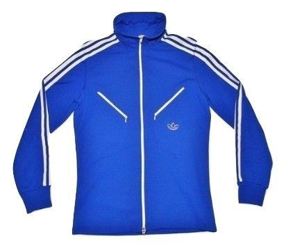 True original Adidas 1970's track and field jacket UK S