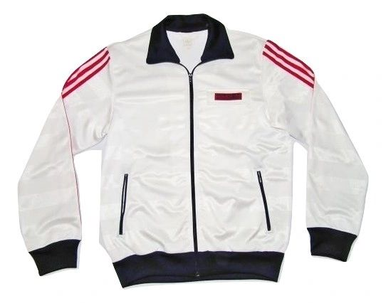 true vintage oldskool Adidas jacket UK M