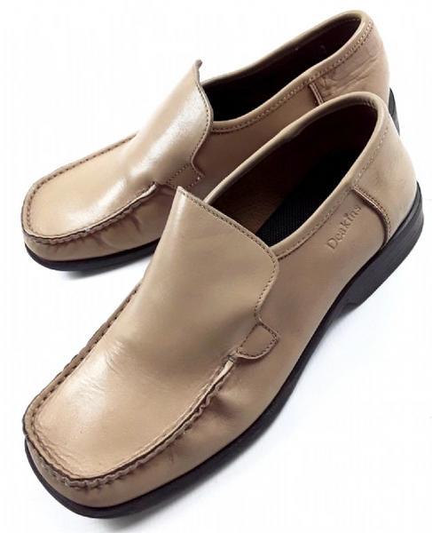mens vintage leather slip on size 8
