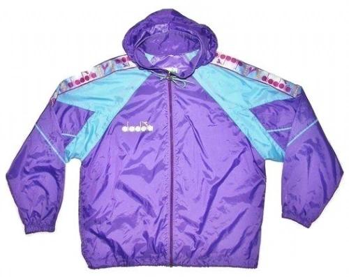 original 80's diadora jacket size medium to large