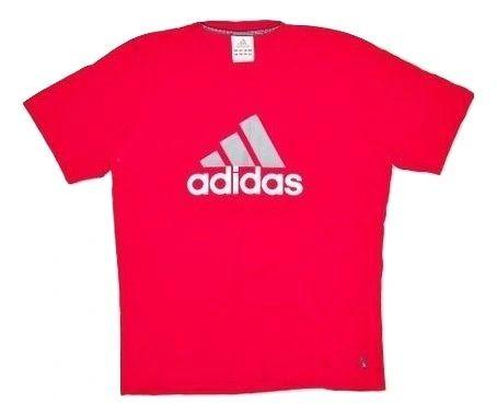 vintage adidas tshirt red size medium