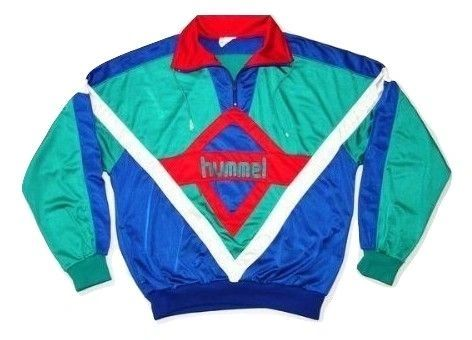 mens true vintage full tracksuit hummel, issued late 80's size uk L-XL