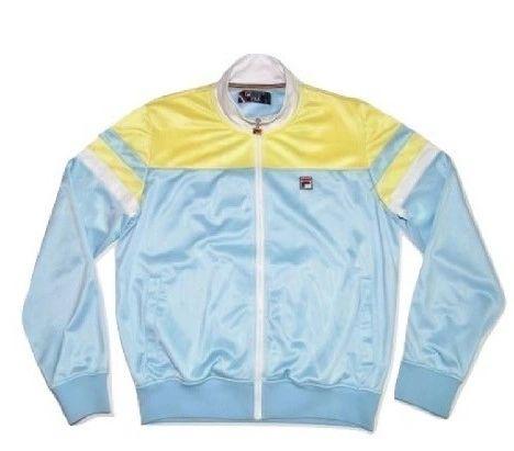 vintage fila silk jacket size M-L